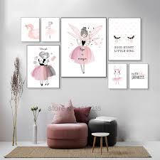 Nordic <b>Babykamer Poster</b> Cute <b>Baby</b> Girl <b>Room Decor</b> Cuadros ...