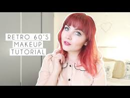retro 60s makeup look paige joanna