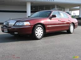 Lincoln Town Car red gallery. MoiBibiki #4