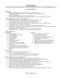 10 11 Music Resume For College Audition Urbanvinephx Com