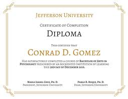 Certificate Of Completion Training Impressive Customize 48 Diploma Certificate Templates Online Canva