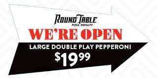 round table pizza overstreet ociates