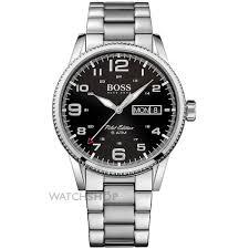 """hugo boss watches men s boss watches watch shop comâ""""¢ mens hugo boss pilot vintage watch 1513327"""