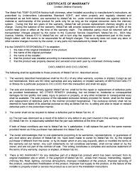 Guarantee Certificate Template Magdalene Project Org