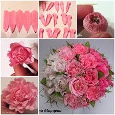 How To Make Paper Flower Bouquet Step By Step How To Make Easy Crepe Paper Chocolate Flower Flowers Paper