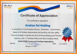7 Certificate Of Appreciation For Good Work Handyman Resume - The ...