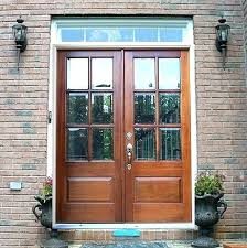 exterior front doors with glass wood and double entry modern door wooden doo