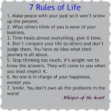 Wallpapers Quotes And Fun 40 Rules Of Life Unique 7 Rules Of Life Quote