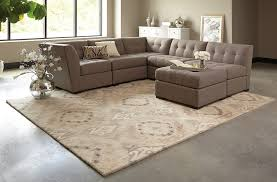 Living Room Rugs On Beige Ikat Pattern Wool Rug Woodwaves