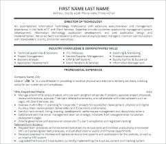 Project Management Resume Templates Simple Best Project Manager Resume Template Platformeco