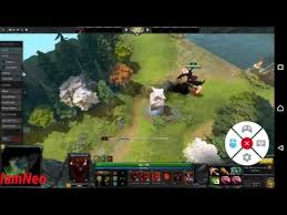 dota 2 gameplay test on android liquid sky youtube