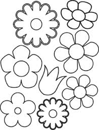 Small Picture Flower Coloring Pages Flower Coloring Pages
