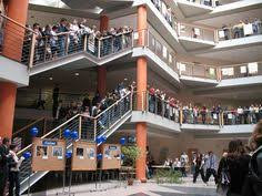 study at Lodz University of technology: Lecture building at Lodz University of Technology, Poland,