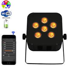 control lighting with ipad. wireless led flat par battery powered wifi mobile dj uplighting with iphone ipadandroid control lighting ipad n