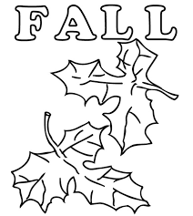 Small Picture Coloring Pages Boy And Fall Leaves Coloring Pages For Kids Autumn