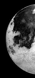 Moon planet amoled wallpaper, dark ...