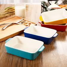 ceramic plate in oven.  Ceramic Rectangular Pan Fish Baked Rice Dish Deepdish Ceramic Plate Baking  Cheese On Ceramic Plate In Oven U