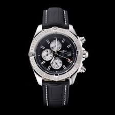 Watches Steel Stainless Dial – Best 13 Breitling Black Chronomat Leather Case Saw137 Bracelet Replica