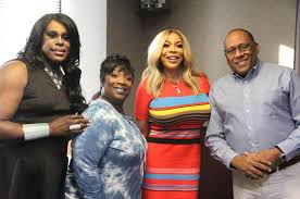 Wanda Smith and Miss Sophia Out at V103 | Radio DJ | FM | Teddy Pendergrass  | Song