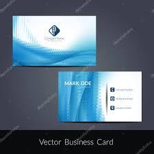 Presentation Of Business Card Design Stock Vector Creativehat