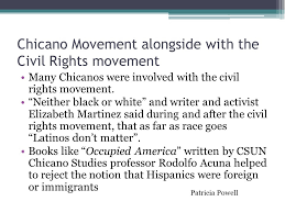 "the origins and history of the chicano movement"" ppt video  9 chicano"