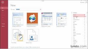 Access 2013 Templates Exploring The New Access Templates