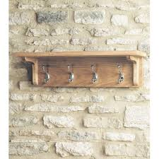mobel light oak wall mounted coat rack baumhaus mobel solid oak medium wall mirror