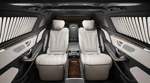 2018 mercedes maybach pullman. unique maybach the interior of the mercedesmaybach pullman is upholstered in leather  throughout as standard on 2018 mercedes maybach pullman s