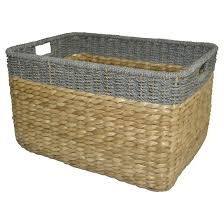Seagrass Extra Large Rectangle Storage Basket ...