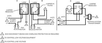 honeywell furnace temperature fan limit switch control heating wiring diagram furnace temperature fan limit switch honeywell l4064