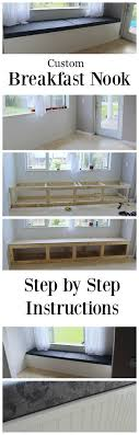 room buy breakfast nook set: how to build a custom breakfast nook for your home step by step