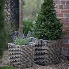 ... Planters, Garden Pots And Planters Extra Large Garden Pots With Cane  Work Pot Design With ...
