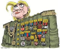 Image result for hillary clinton medal