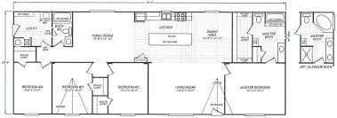 4 bedroom modular home 4 bedroom modular home floor plans new 2001 fleetwood mobile home floor