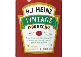 kraft heinz is starting to sell a vine 1896 recipe version of its flagship