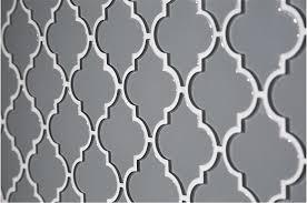 glass arabesque ocean gray water jet cut mosaic tile