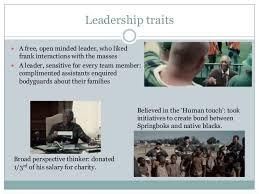 movie invictus leadership analysis 3