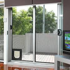 sliding glass doggie door why you need the cat door for sliding glass door petsafe sliding