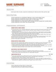 great - How To Write A Resume In Australia