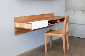wall mounted office desk. The Best Desks For A Cool Home Office License To Quill Wall Mounted Desk