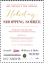 Holiday Party Soiree Shop 857