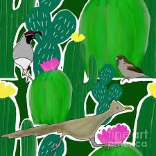 "Priscilla Wolfe on Twitter: ""New artwork for sale! - ""Cactus and Bird  Combination"" - https://t.co/5cOlmU0DZk @shoppixels… """