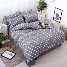 polka dot bedding. Modren Dot Bedding 4 Pcs Gray Polka Dots Bedding Set B44 In Dot Bedding O