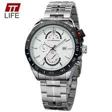 online buy whole trendy mens watch from trendy mens ttlife brand men watches waterproof calendar analog quartz watch men trendy 3 dials decoration watches men