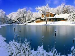 free nature wallpaper winter. Country Retreat Wallpaper Winter Nature Wallpapers Intended Free