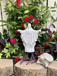 Eternal Light Cemetery Hours Solar Lighted Jesus By Eternal Light Illuminated Cemetery