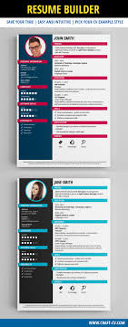 Creative Resume Builder Resume Builder Creative Resume Templates creativeresume resume 16