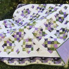 Wedding Quilt Patterns Mesmerizing Lilacs Wedding Quilt Quiltsbyme