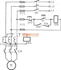 protection circuit control circuit circuit diagram seekic com open phase protection circuit using three current transformers