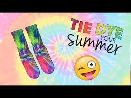 diy tie dye socks summer diy